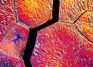 Microcrack in zirconia due to aging