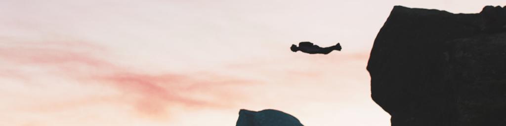 Injuries base jumping