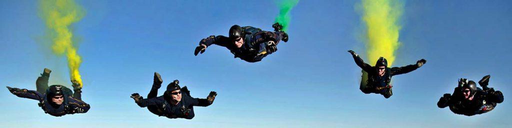 Injuries skydiving