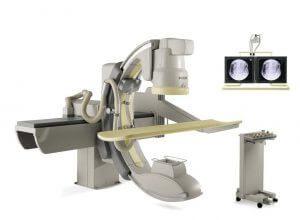 C-arm fluoroscopy